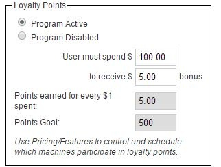 Loyalty Points Example